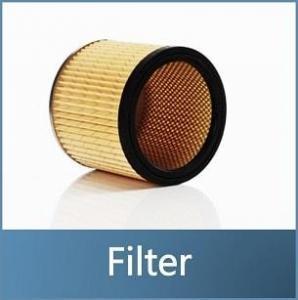 Nasssauger Filter